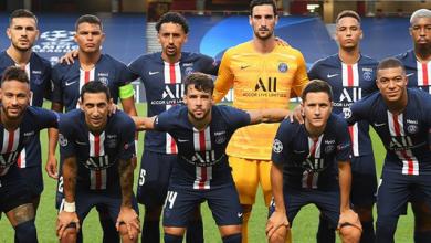 équipe du PSG