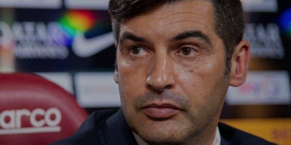 Paulo Fonseca, l'entraîneur de la Roma