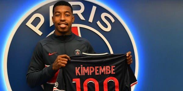 Kimpembe 100 matchesd Ligue 1