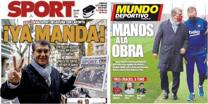 presse sportive catalane