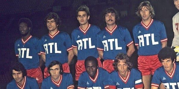 Maillot PSG saison 1974 1975
