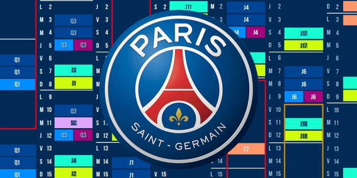 Psg Calendrier 2022 Le calendrier général du PSG pour la saison 2021/2022