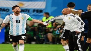 Sampaoli Messi