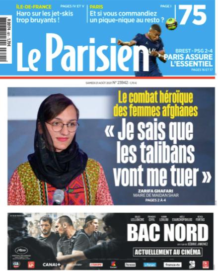 Le Parisien-2021-08-21