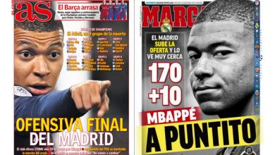 mbappe prensa