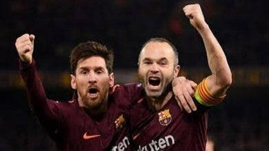 Iniesta Messi