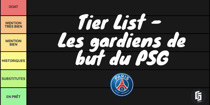 Tier List - Les gardiens de but du PSG